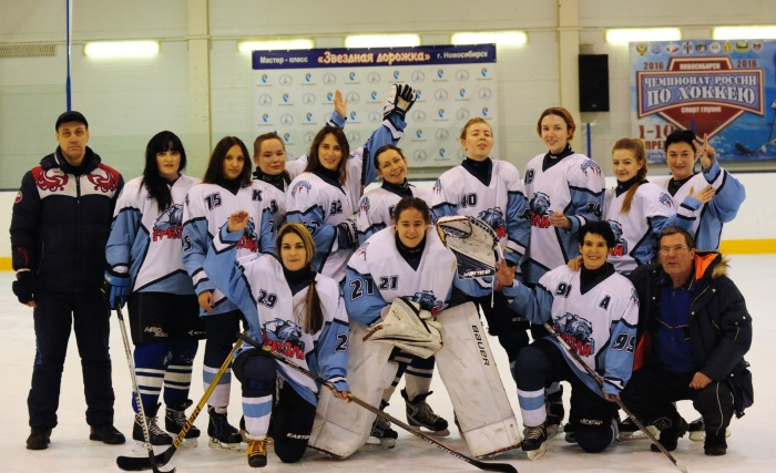 В Новосибирске ищут вратаря для женской хоккейной команды
