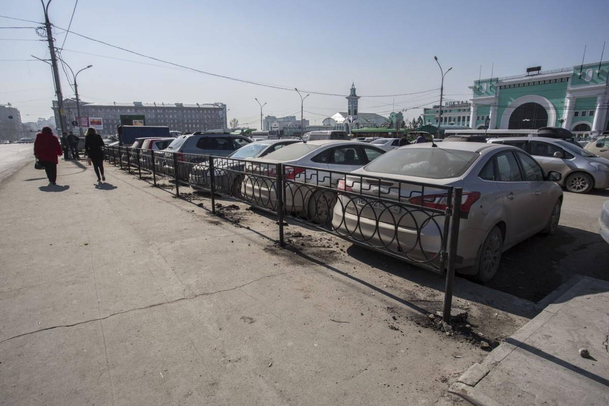 Будущая платная парковка