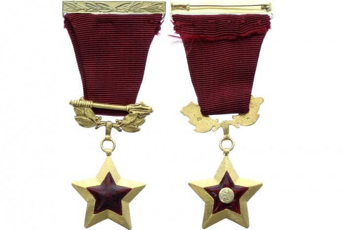 Звезда Героя Чехословацкой Социалистической Республики —редкая награда: вручалась всего 31 раз, получили ее 25 человек