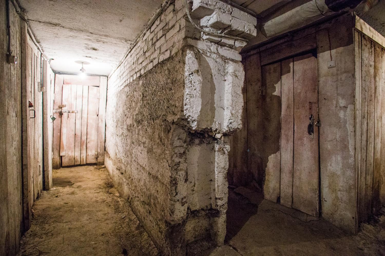 """Несущая стена в подвале дома <nobr class=""""_"""">№ 27</nobr> на ул. Северной"""