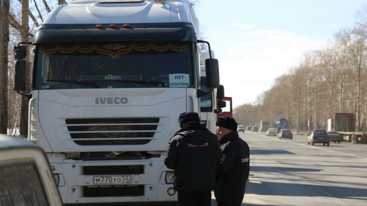 Митингующих против «Платона» дальнобойщиков забрали в полицию