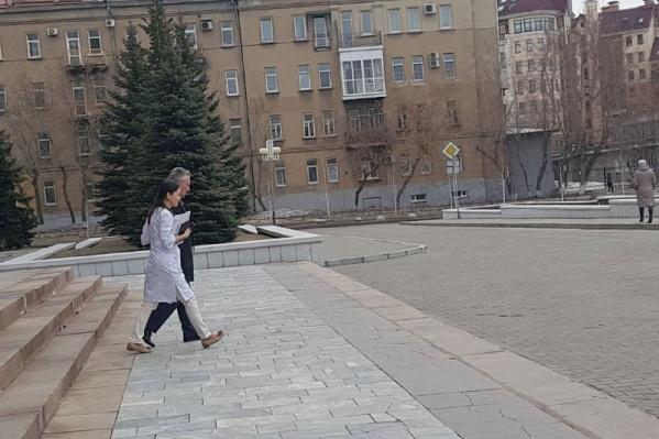 Архивный снимок: 11 апреля Станислава Гребещикова увезли на «скорой», с тех пор он проходит лечение в больнице