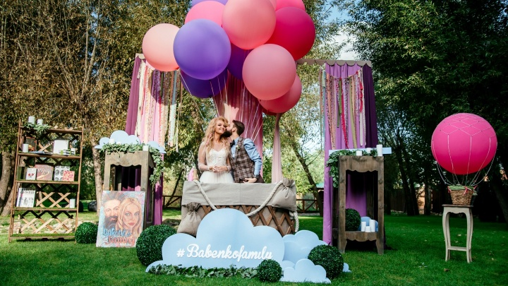 Свадьба в атмосфере европейского патио в экопарке «Раздолье»
