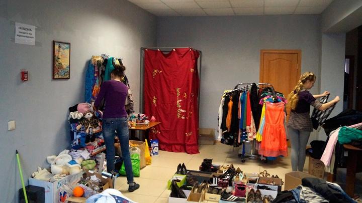 Омичам предложили сдать старые вещи и мебель за 100 рублей