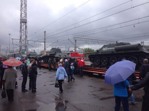 Агитпоезд «Армия Победы» прибудет вОмск 3мая