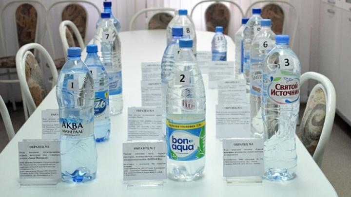 Красноярские эксперты забраковали омскую воду в бутылках