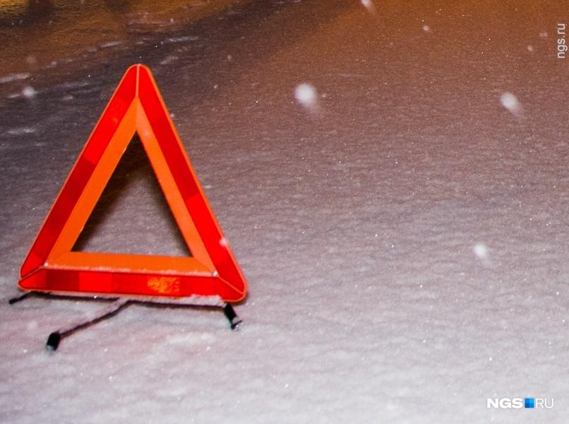 ВОмском районе случилось ДТП стремя большегрузами