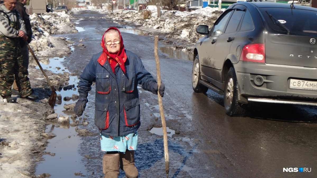 Ледяной накат изаужение проезжей части выявили вОмске