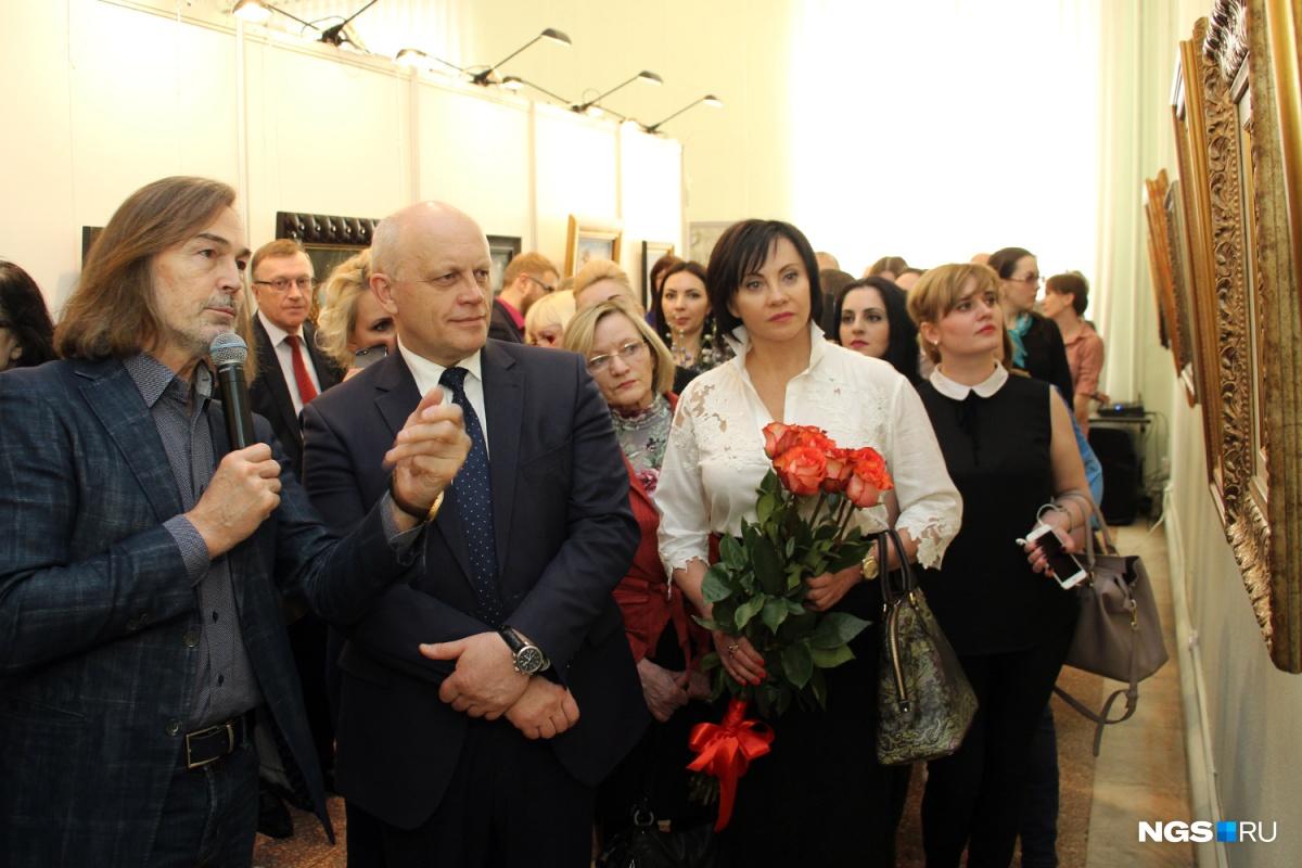 ВОмск приедет 2-ая индивидуальная выставка Никаса Сафронова