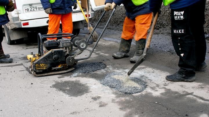 Опубликован список омских дорог для аварийного ремонта