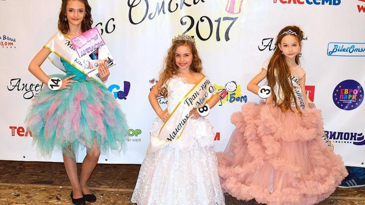 7-летняя танцовщица получила титул «Маленькая мисс Омска»