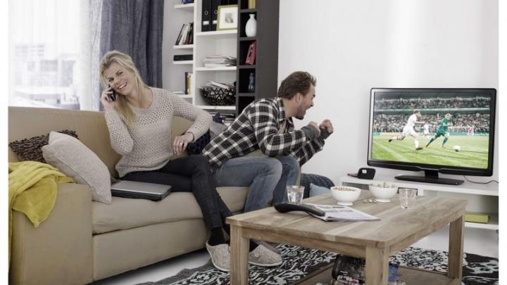 Чемпионат мира по футболу увеличил аудиторию телеканалов