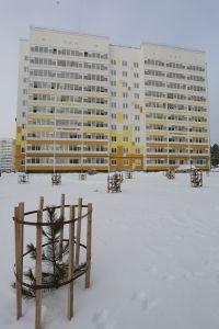 ПЗСП меньше, чем за год, построил новый дом в микрорайоне Пролетарский