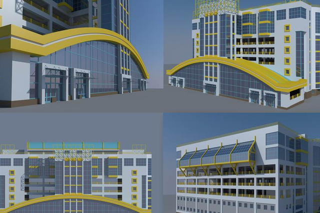 Проект нового восьмиэтажного рынка в СЖМ