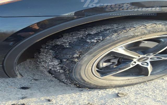 Жители ЖК «Акварель» пожаловались на качество дороги на улице Республиканской
