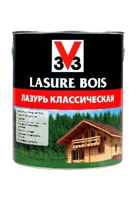 Лазурь Классическая V33 для защиты и декорирования деревянных поверхностей