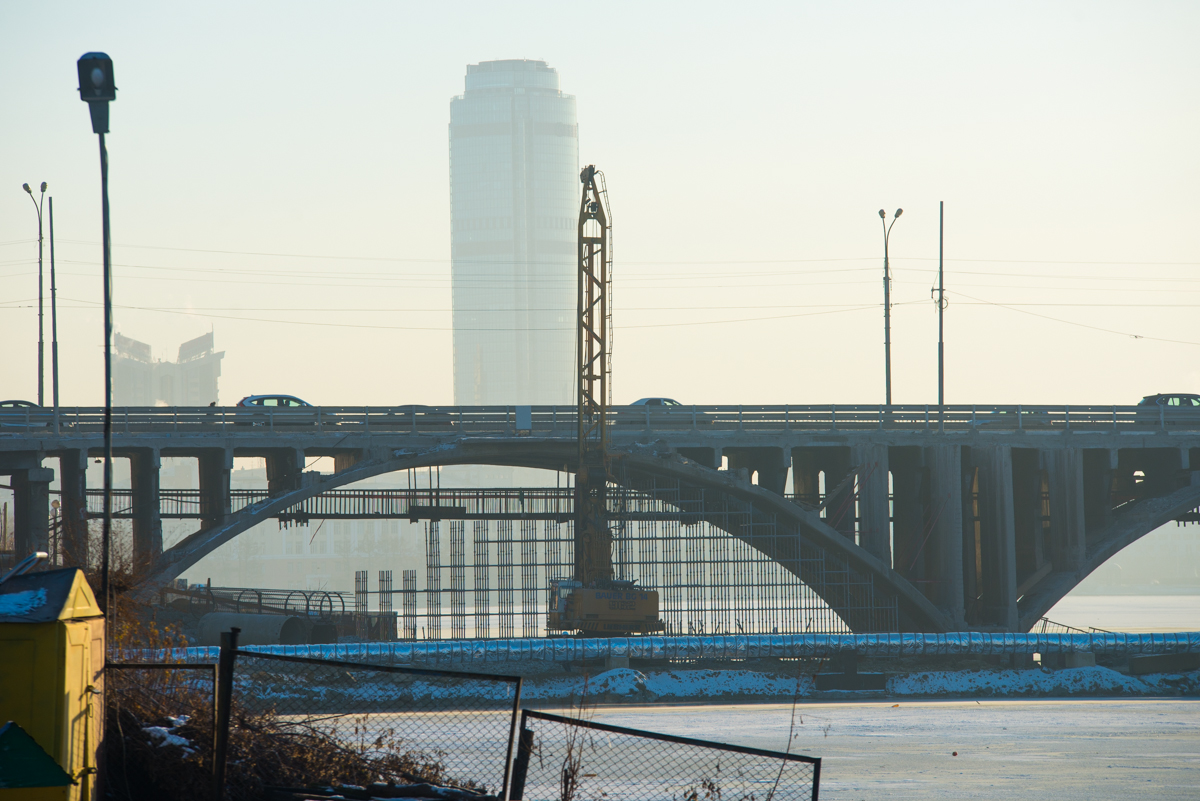 Реконструкция Макаровского моста