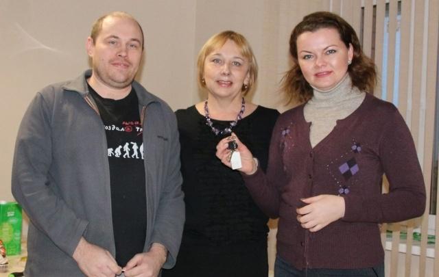 Отличный подарок к Новому году получили дольщики ЖК «Первый Плехановский»
