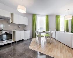 В Тюмени появились квартиры с большой кухней-гостиной