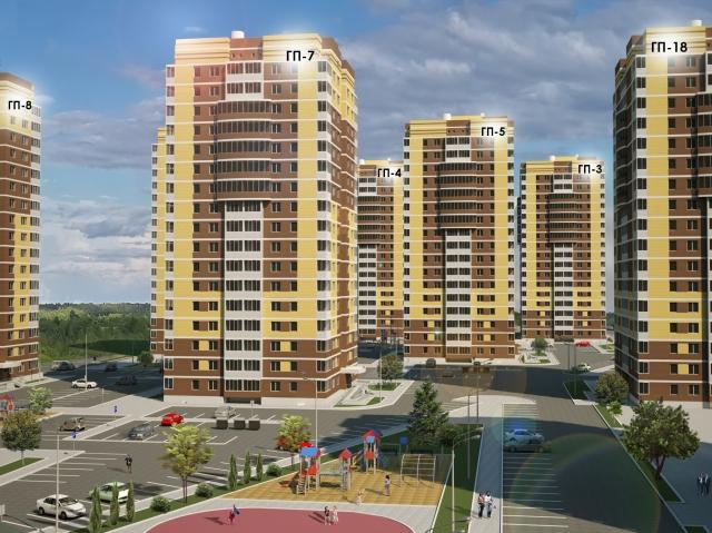 ЖК «Горизонт»: три дома готовы к эксплуатации, два других – открыты продажи
