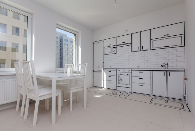 Квартира под отделку: в чем преимущество?