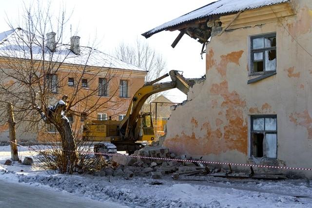 На снос расселенных аварийных домов у муниципалитетов нет средств
