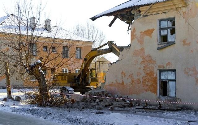 Расселённые аварийные дома на Южном Урале снесут до лета