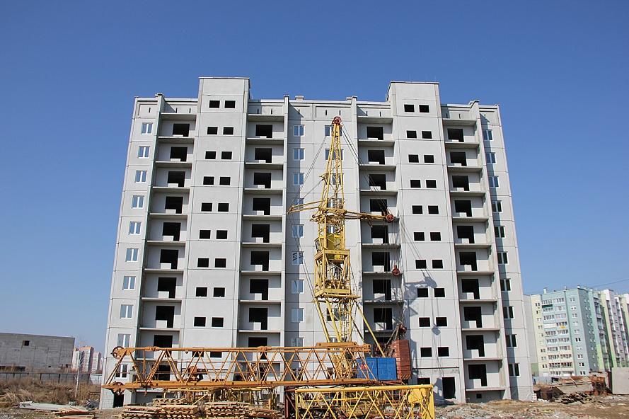 Строительство нового жилого комплекса идёт на северо-западе Челябинска, в микрорайоне 51а