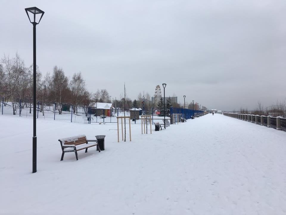 Ледовый городок перенесли ближе к парку «Городское начало»