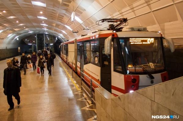 Министр транспорта доложил, как ведётся работа по проекту метро в Красноярске и получил задание запустить скоростной трамвай