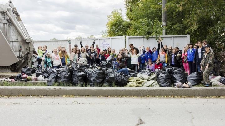 Собрали 10 килограммов крышечек: новосибирцы устроили соревнования по сбору мусора