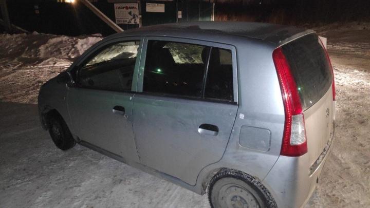 Пьяный тюменец без прав сбил 13-летнего школьника, скрылся с места ДТП и через 150 м уснул в машине