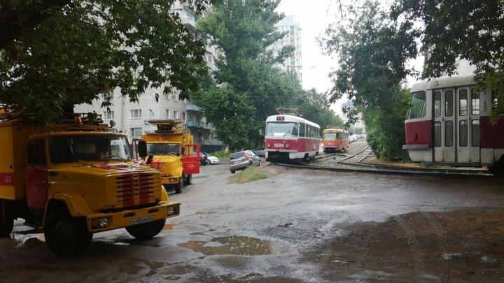 Управились за час: волгоградские трамваи №3 и 4 поехали по привычным маршрутам