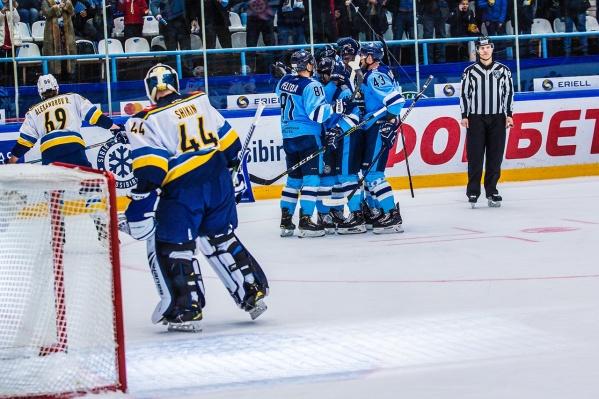 «Сибирь» взяла реванш над хоккейным клубом из Сочи
