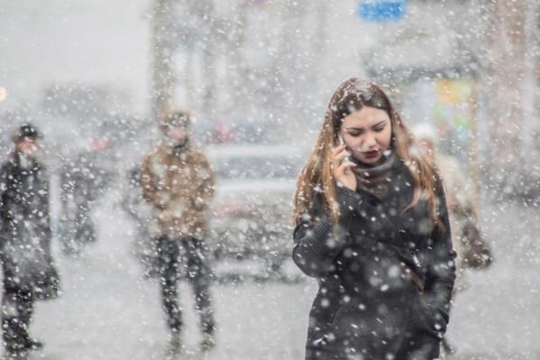 Первые снежинки начнут пролетать над Челябинском уже на следующей неделе