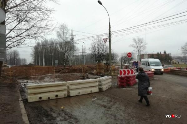 Тутаевское шоссе закроют с 10 декабря на полгода.