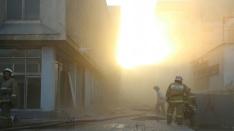 В центре Нижнего Новгорода горел «Юпитер»: пожар ликвидирован. Мы следили online