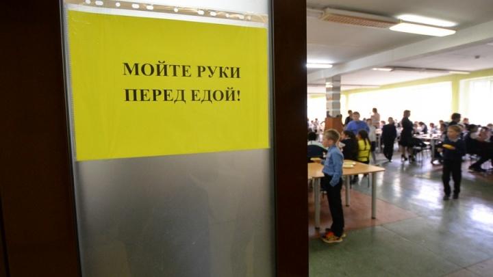 В «путинской» школе в Мичуринском, где перед Новым годом отравились дети, вновь открыли столовую