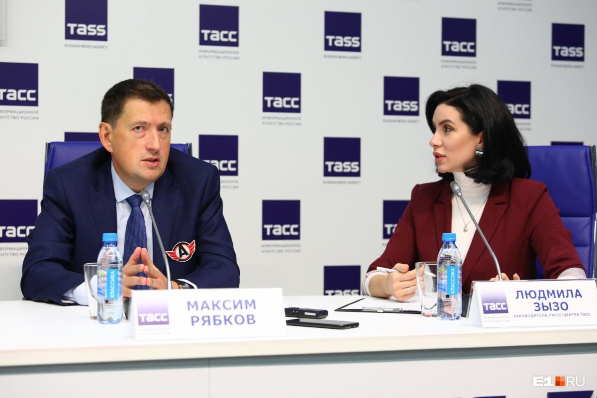 Андрей Козицын— о новом сезоне ХК «Автомобилист». Прямой эфир