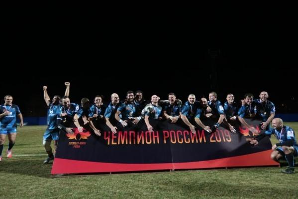 «Енисей СТМ» стал чемпионом России уже в 10-й раз