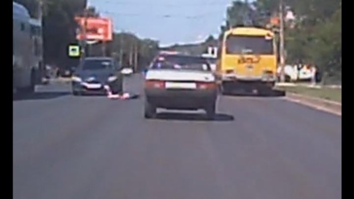 Ребенок, сбитый в Уфе на пешеходном переходе, находится в коме