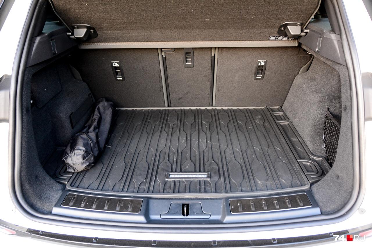 Багажник стал больше и в принципе хорош — 591 литр