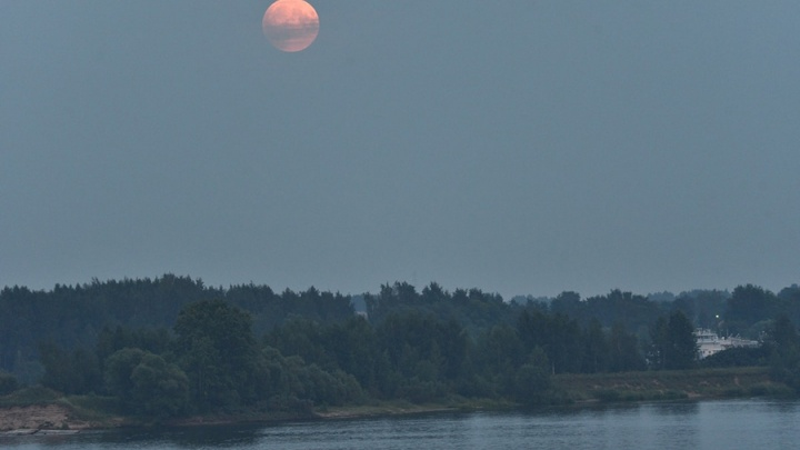 Ярославцы увидели полное лунное затмение