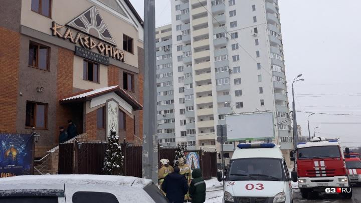 В ресторане на Дыбенко произошел пожар