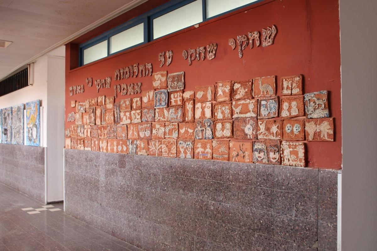 А это школа, в которой учится Юна