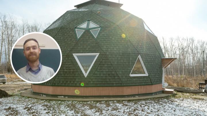 Учитель из Красноярска придумал дом с круглогодичным солнечным отоплением и собирает деньги на его постройку