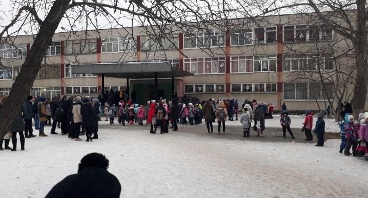 В Екатеринбурге эвакуировали школу N 147