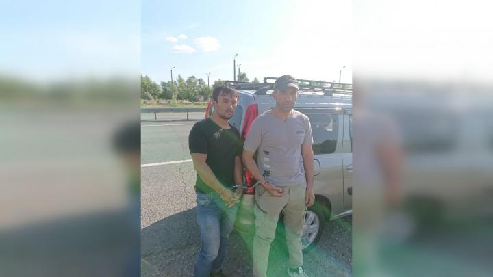 В Самарской области ФСБ поймала нелегальных мигрантов