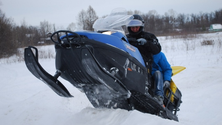 По горе Иремель в Башкирии разрешили разъезжать на снегоходах