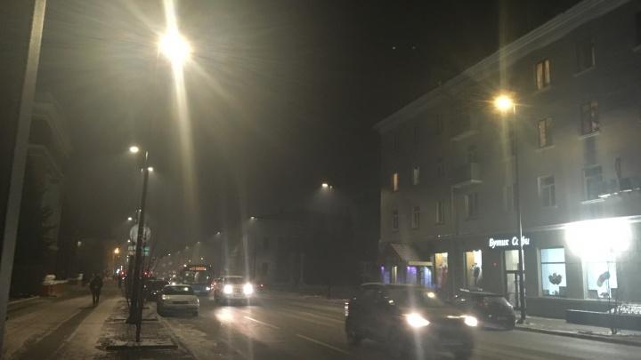 Фотоподборка: красноярцы поделились жуткими кадрами черного неба
